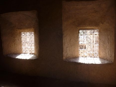 two windows in amridil kasbah by Pit7