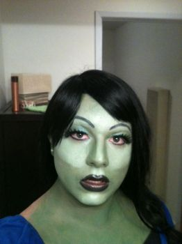 Elphaba--the drag queen by Andrewthefox