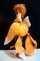Flamme  the Sun Mermaid by TendresChimeres