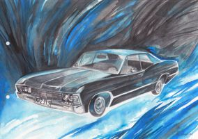 Chevy Impala 1967 by snowmarite