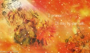 Kagamine twins_wallpaper.. by maulidina17