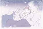 Mystrade - Law and Order - After Work by RedPassion
