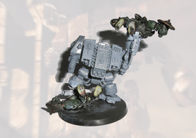 Dreadnought Conversion no paint yet by orcbruto