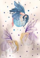 Amy Brown Bubble fairies by AmyLou31