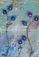 ATC Beaded Trees by melissamyth