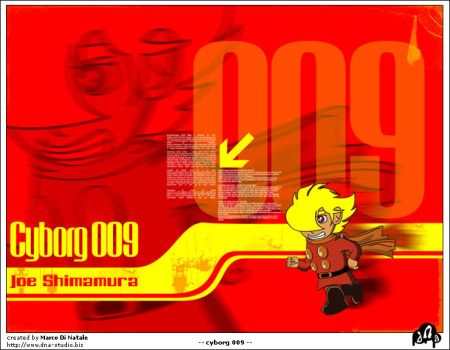 Cyborg 009 - Tribute by dna1979