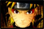 Naruto with Sharingan by Bafteam