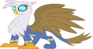 Gilda as a Wonderbolt flyer by Rarity6195