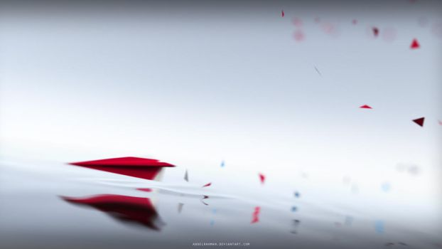 Spirit of a Paperplane by abdelrahman