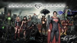 Justice League New by sawn77