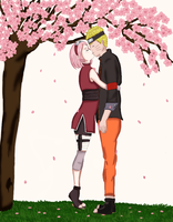 NaruSaku by FunnyWay
