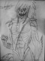 Me (or Soul Evans) as a Titan from SNK by TheDrailusX