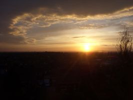 Sunset in Tameside by stalydan