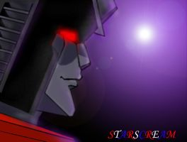 Starscream - Rememberence by DeviantDolphinART