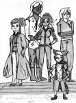 Characters to an Unnamed Story by aQuackone