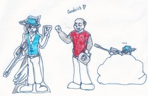 A Team Furtress 2 Drawing ~Team Fortress 2 by Sir-Yiffington