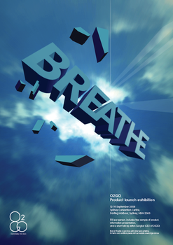 Breathe poster by j3fton
