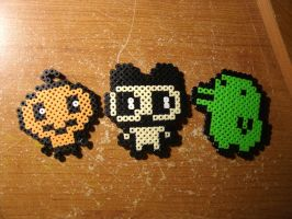 Perler Beads - Tamagotchi by Piranhartist