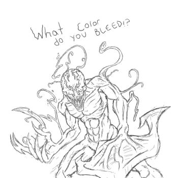 Carnage Doodle by GRIDALIEN