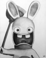 Raving Rabbid by shadwgrl
