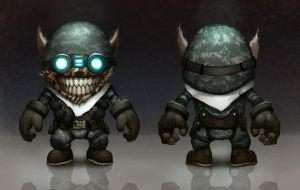 League of Legends Ziggs Hextech Grenadier Concept by AlexKonstad