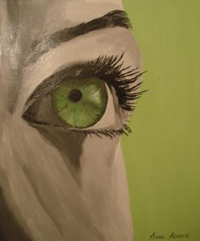 green eye by Aorea