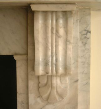 Marble Fireplace. by tia-stock