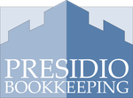 Presidio Bookkeeping Logo by Bohma
