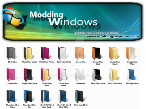 Vista New Color Folders by 4d-system