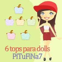 Tops para dolls by PiTuFiNa7