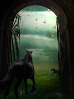 the gate of heaven by Vhikarunogo