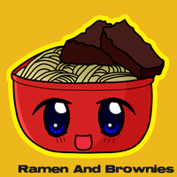 Ramen And Brownies by Funsized-Not-Short