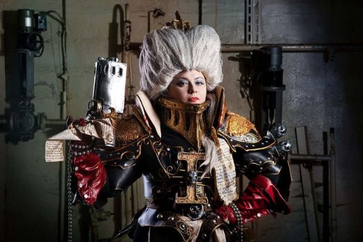 Warhammer 40 000 Cosplay: For the Emperor! by alberti