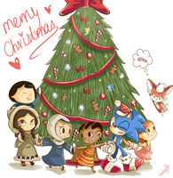 Christmas around the world by Ipun