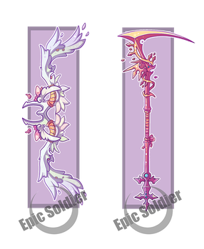 Weapon adopts 2 (CLOSED) by Epic-Soldier