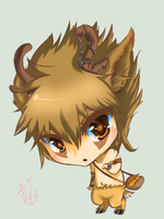 Niko the Caribou Chibi by UnearthlyVirus
