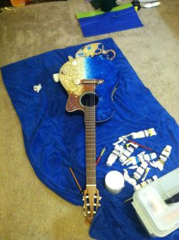 Dad's Guitar 3 by hilbert-space-cadet