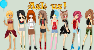 Ask my Characters by Alexiawood