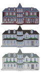 project-dere: house concepts by raxiinus