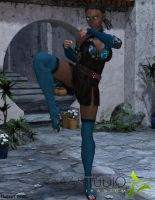 Enna Yembe, my Blade and Soul Character by ReilanT