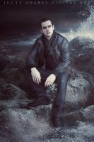 In the rock Psd photomanipulation tutorial free by juciely