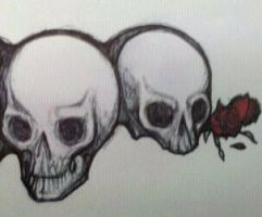 Skull Tat Design by krutch99