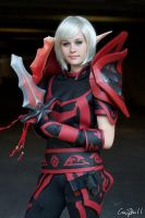 Blood elf - Rogue tier 2 by KoniCosplay