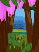 Total Drama BG. Fairy Wood. by Chizu-PS