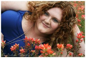 Red Head In the Flower Bed by TheDarkRoom-Photo
