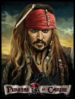 Captain Jack Sparrow by turkill
