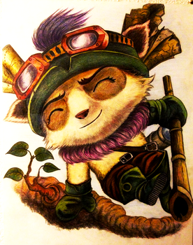 Teemo by SofiettaG