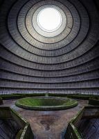 Power Plant - Cooling Tower by sebastianmirgeler