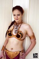 Slave Leia at Memorabilia 2012 by Inuyomi