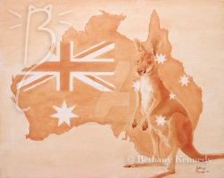 Australia by FuzzyCreaturePainter